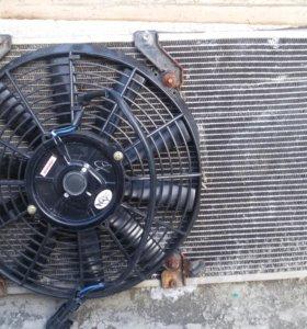 Радиатор кондиционера на приору