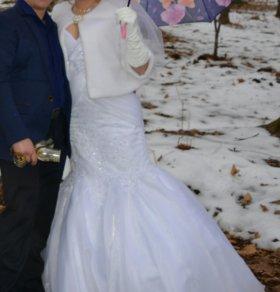 Свадебное платье ( Русалка)