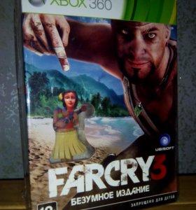 Far cry 3 (xbox 360) в упаковке