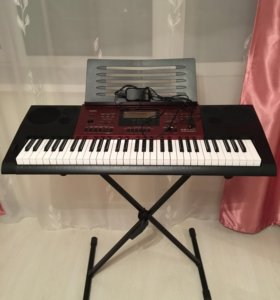 CASIO CTK-6250 electronic keyboard + Подставка