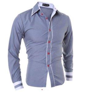 Рубашка мужская НОВАЯ 48 размера