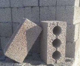 Керамзитные блоки.