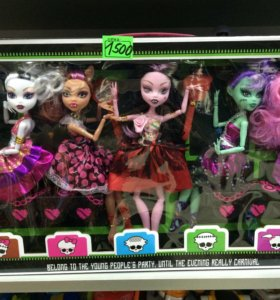 062. Монстр хай куклы