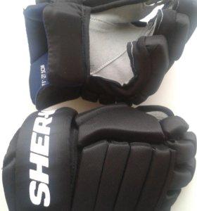 Краги хоккейные SHER-WOOD T30 (11РАЗМЕР ; 27.5см