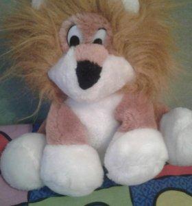 Львенок Мягкая игрушка