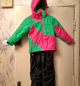 Зимний раздельный костюм 110+6