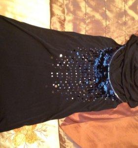 Блуза-топ с открытой спиной