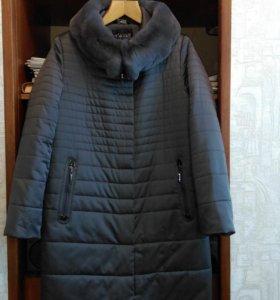 Пальто-верблюжка зимнее