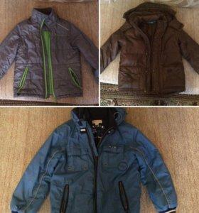 3 куртки