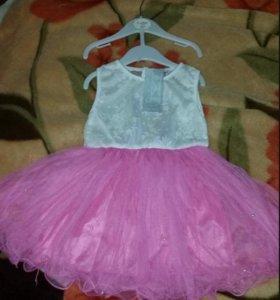 Новое праздничное платье для девочки