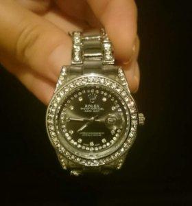 Часы серебро, золото