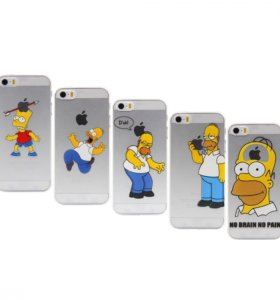 "Чехол ""the Simpsons"" iPhone 5/5s/SE"