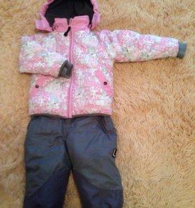 Куртка и полукомбинезон р.80 (зимний) Lummie
