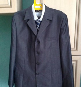Костюм ( брюки, рубашка, пиджак, галстук)