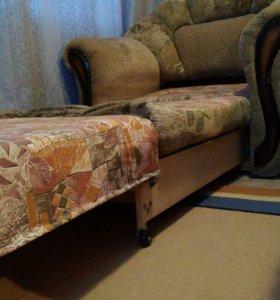 Кресло-кровать мягкое