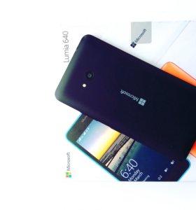 Lumia 640 Dual sim LTE.