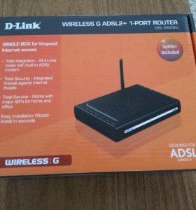 Модем D-LINK ADSL 2+ WIFI