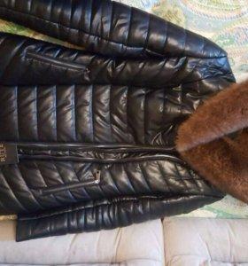Куртка мех соболь