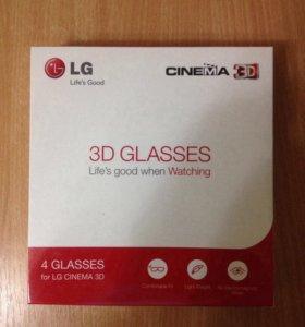 Очки для телевизоров LG Cinema 3D AG-F310(X4)