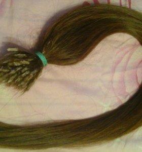 Натуральные славянские волосы (60см)