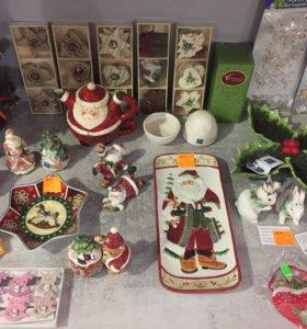 Новогодние подарки: керамика, фарфор
