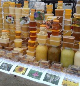 Мёд 230₽-400₽ за килограмм