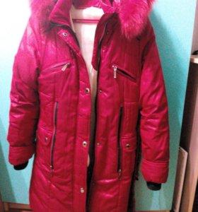Куртка-пуховик для девочки
