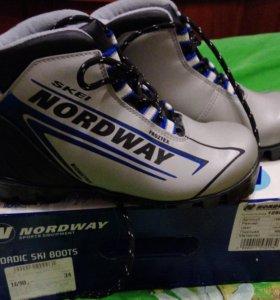 Ботинки для лыж 34 размер