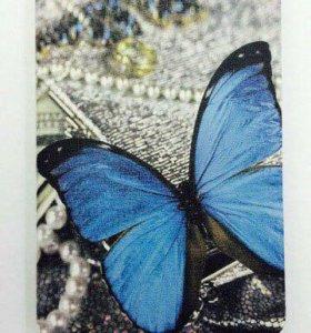 "Чехол-книжка ""Бабочка"" для iPad mini"