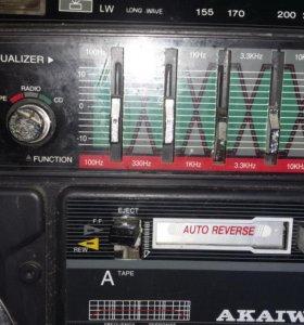 Магнитофон akaiwa trc-931