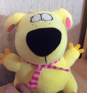 Игрушка для детей, мягкая игрушка собака