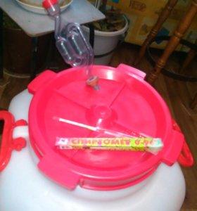 Десстиллятор воды, плитка, фляга