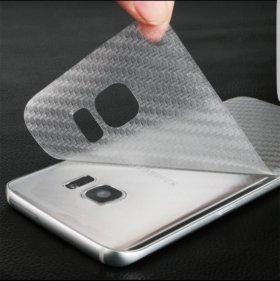 Карбон на Samsung S7 edge