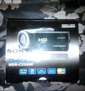 Видеокамера. SONY HDR-CX360E