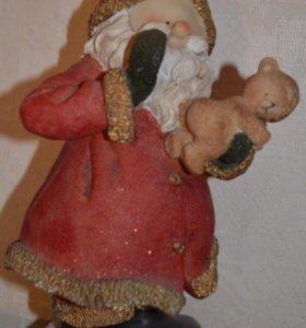 Сувенирный Дед Мороз и снеговик
