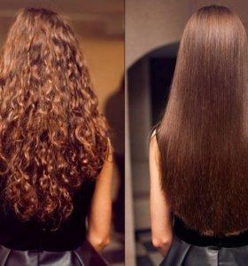 Кератиновое выпрямление волос без формальдегида!
