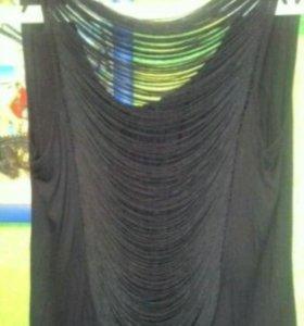 Легкое трикотажное платье