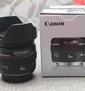 Объектив Canon 50/1.4