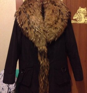 Куртка зимняя(пихора) с натуральным мехом  xs-s