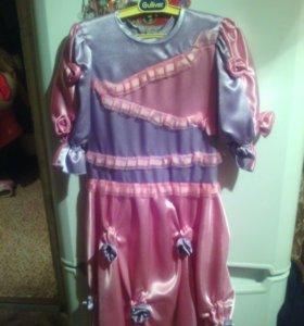 Платье детское на 8 лет в хорошем состояние н