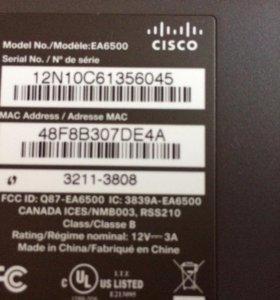 Wi-Fi роутер Cisco  двухдиапазонный EA6500