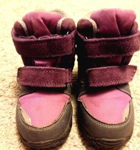 зимние ботиночки 26р