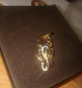 Золото (подвеска скорпион ♏)