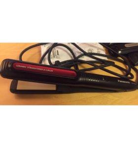 Щипцы для выпрямления/завивки волос,Panasonic 4в1