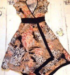 Летнее платье новое 46 размер