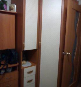 Шкаф угловой и пенал