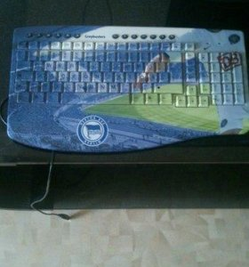 Клавиатура фк Герта (Hertha BSC Berlin)
