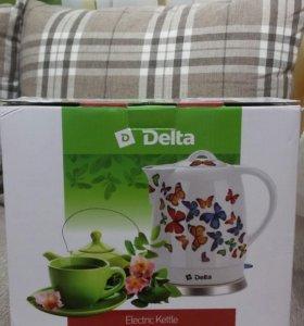 Чайник новый из термостойкого фарфора