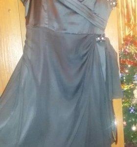 Платье 46~48р нарядное вечернее