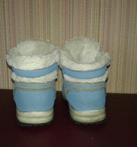 Зимние ботинки /полусапожки/ кроссовки